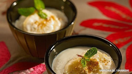 Banánovo-kokosový jogurt