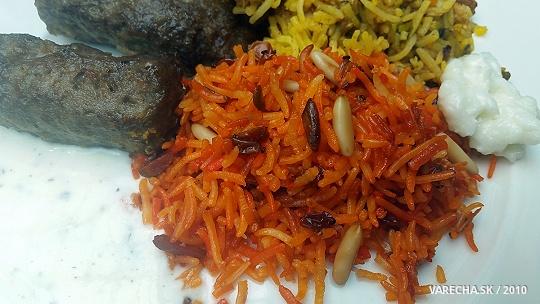 Červená ryža