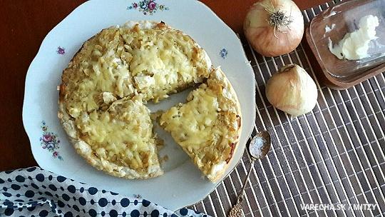 Cibuľový koláč / Quiche aux Oignons