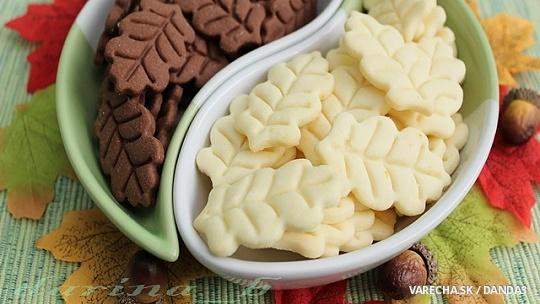 Citrónové a škoricové sušienky