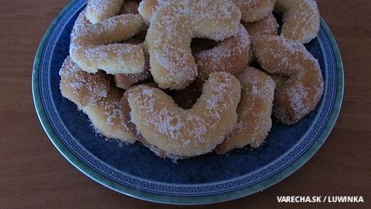 Citrónovo-vanilkové rožteky
