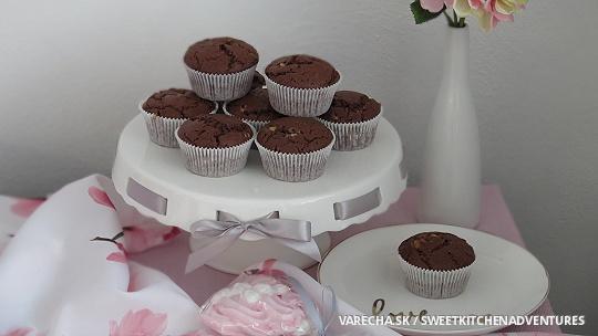 Čokoládové muffiny (videorecept)