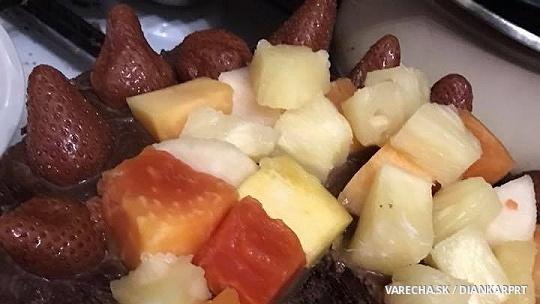 Čokoládovo-čokoládová torta