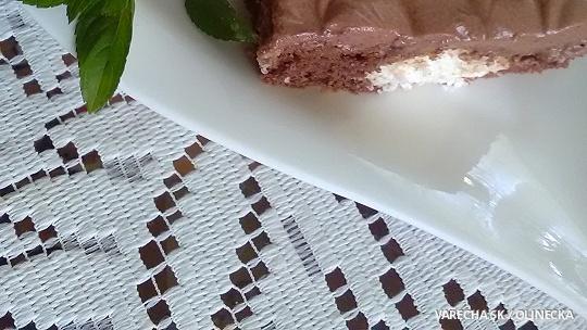 Čokoládovo-kokosový zákusok