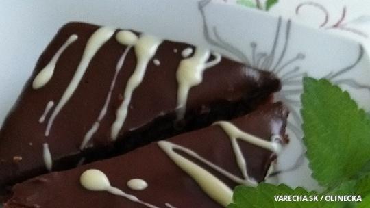 Čokoládový koláč s vôňou kávy