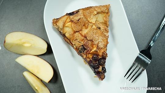 Čučoriedkovo-jablkový koláč (videorecept)