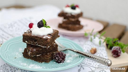 Fazuľové brownie