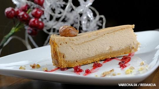 Gaštanový cheesecake so smotanovým likérom