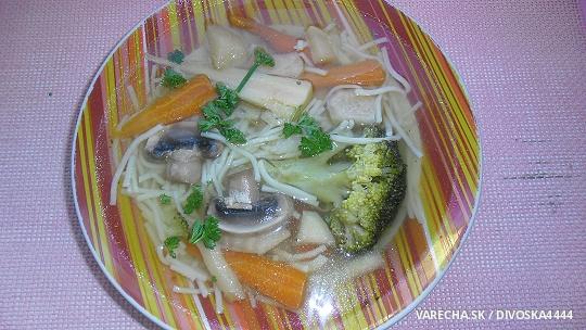 Falošná hovädzia polievka