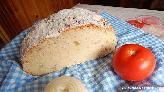 Írsky domáci chlieb - bez droždia, bez kvásku