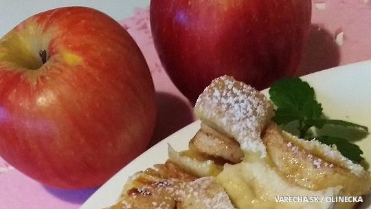 Hrnčekový jablkovo-tvarohový koláč