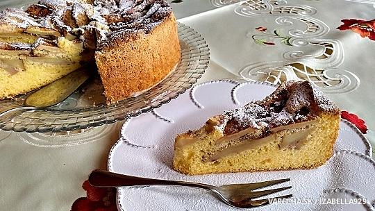 Jablkový koláč len zo 4 surovín