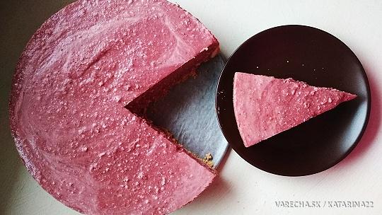 Jahodovo-tvarohový koláčik