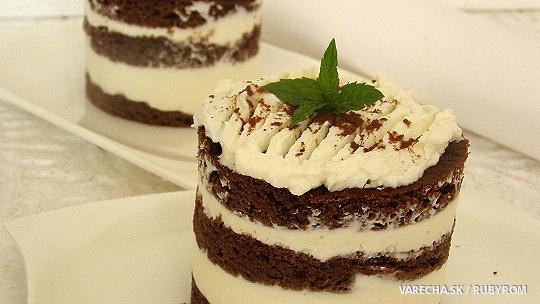 Kakaový dezert s tvarohem pro diabetiky