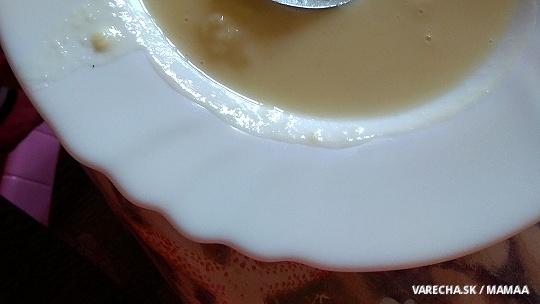 Krémová zemiačiková polievka