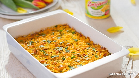 Kukuričné casserole