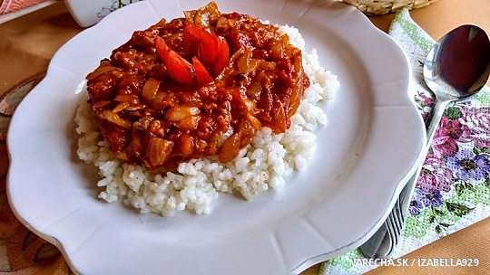 Lečo s ryžou