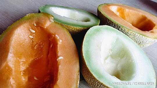 Lekvár zo žltého melóna s likérom zo žltého melóna a vanilkou
