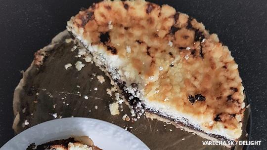 Makovo-tvarohový koláč s posýpkou