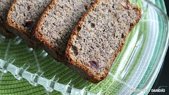 Makovo-bielkový chlebík