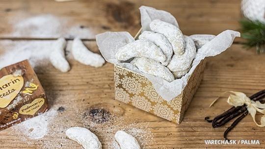 Mrkvové vanilkové rožky