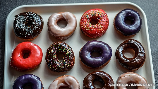 Najlepšie domáce donuty
