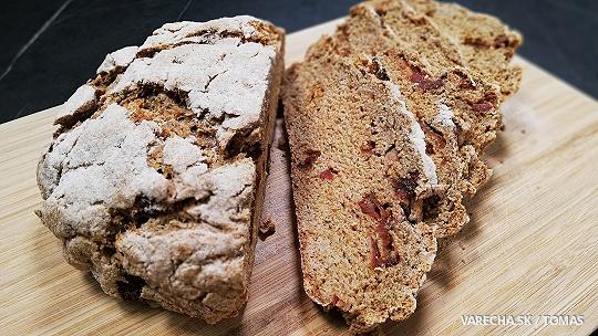 Nekysnutý špaldový chlieb (videorecept)