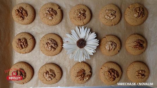 Orechové medové sušienky bez lepku