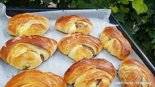 Orechovo-tvarohové koláče