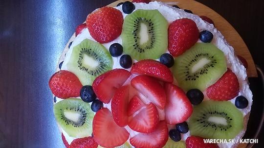 Ovocná tortička