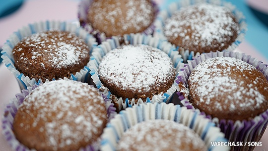 Perníkové muffiny