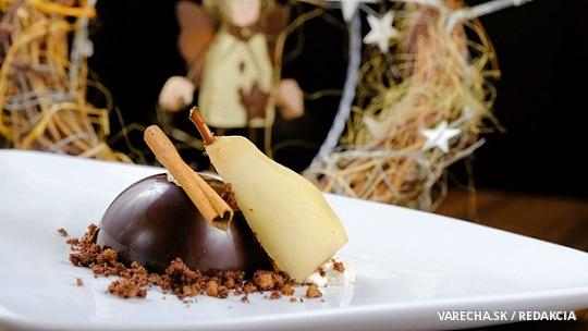 Plnené čokoládové gule