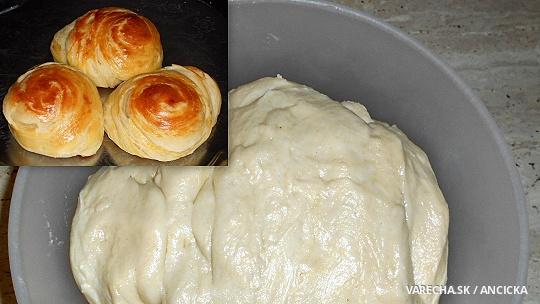 Pľundrové cesto - maslové