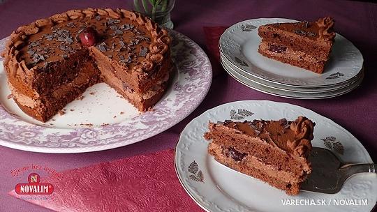 Rýchla bezlepková Schwarzwaldská torta