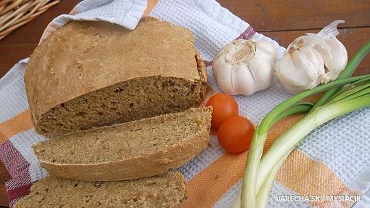 Rýchly nekysnutý celozrnný chlieb