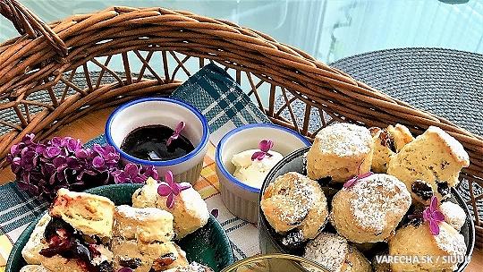 Úžasné scones so sušeným ovocím podľa...