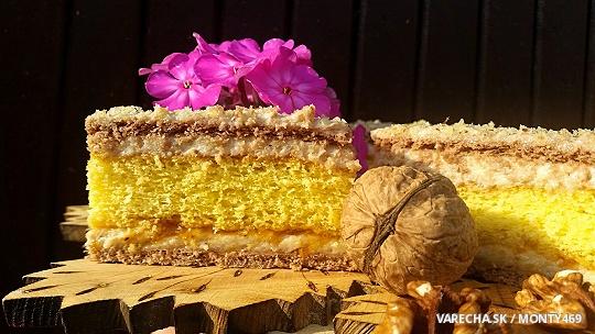 Silon – piškótovo-salajkový koláč