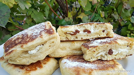 Sladké chlebové placky