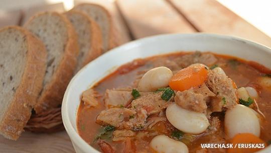Sýta držková polievka