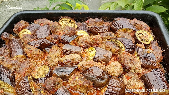 Tepsi kebab baklažánový