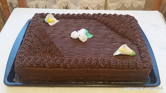 Torta s kakaovým krémom