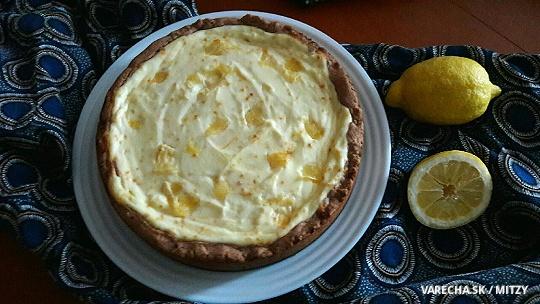 Tvarohovo-citrónový koláč