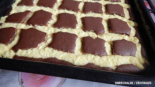 Tvarohový koláč Prešívaná deka
