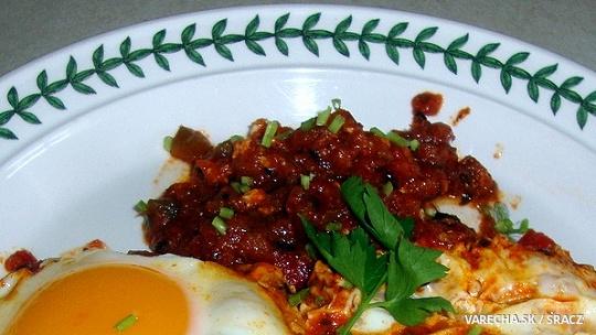 Vajíčka v očistci – shakshuka