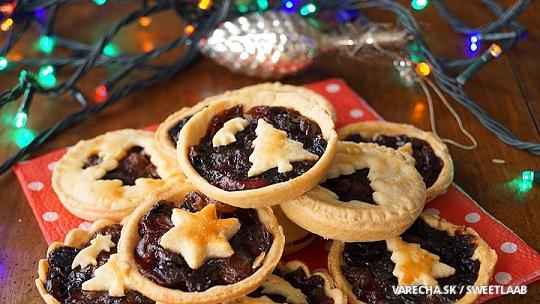 Vianočné ovocné koláčiky