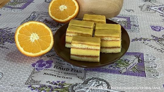 Vitamínový pomarančový zákusok s LianaVitom
