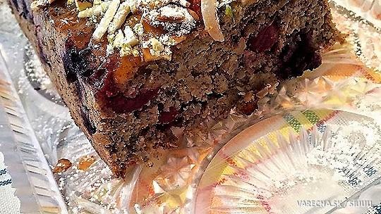 Zdravší ovsený koláč s ovocím