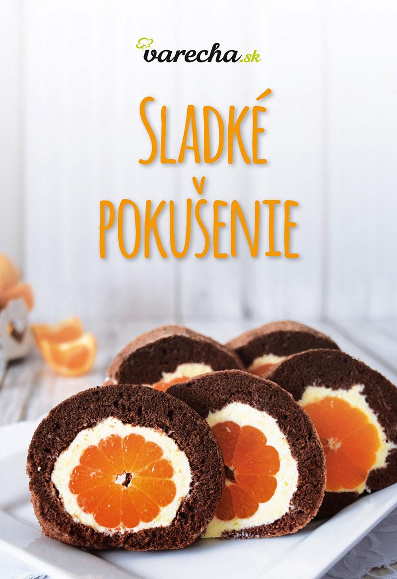Makovo-orechová torta s malinovým želé