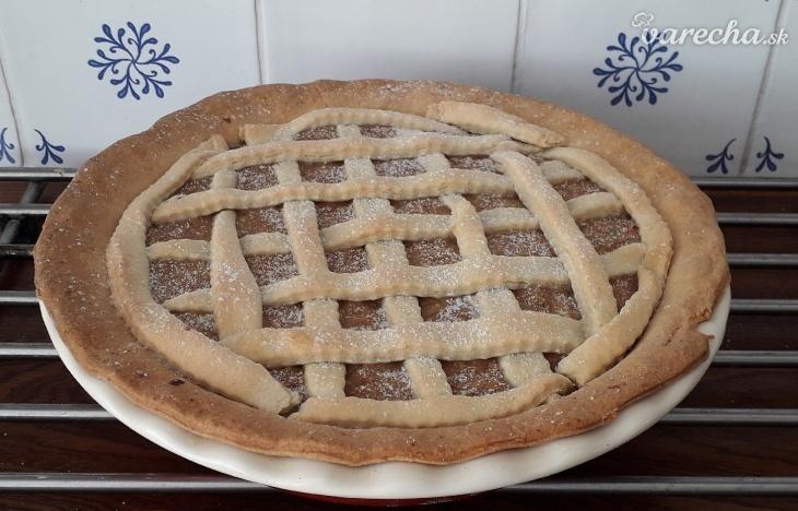 Letný cuketový pie - mriežkový koláč