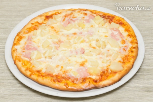 Pizza Hawai (fotorecept)